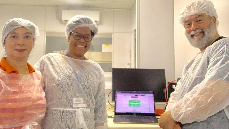 Jaqueline Goes de Jesus coordinated a team of Brazilian scientists