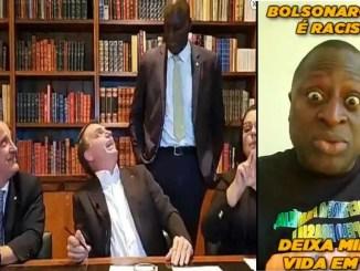 On Darks Skinned Congressman: President Bolsonaro Says a Joke