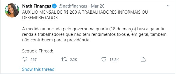 Nath Black Personalities advise and inform Brazilians About COVID-19