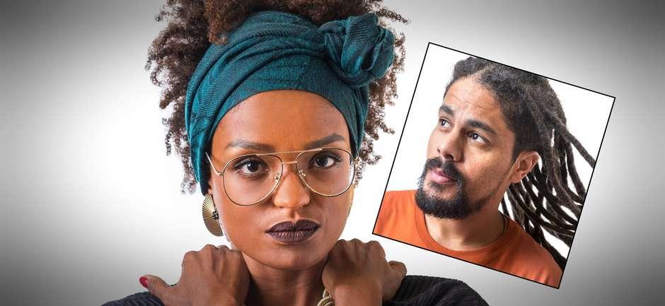 Big Brother Brasil Nayara e Viegas - união para conduzir um negro até a final do 'Big Brother Brasil'.