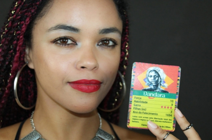 Bafo Afro: Teacher in Southern Brazil Creates Card Game For Students