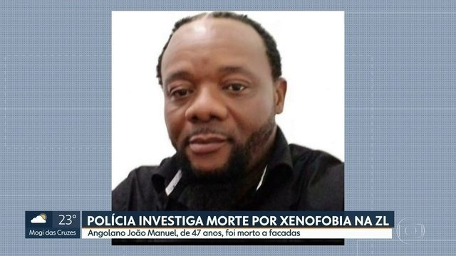 João Manuel, 47 Angolan Immigrant Was Stabbed To Death in East Zone of São Paulo