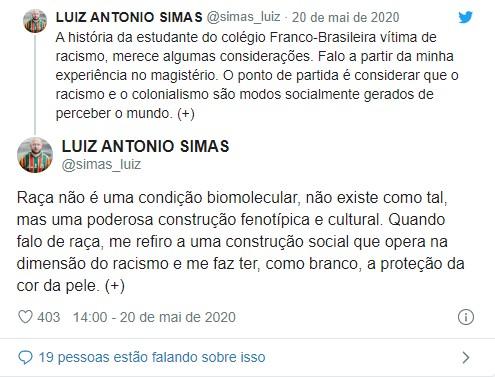 Luiz tweets