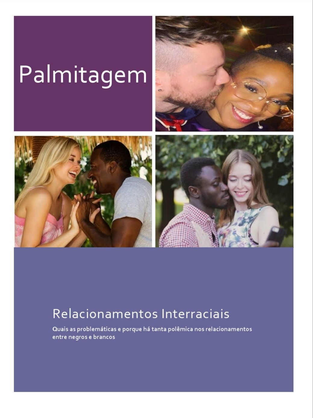 Palmitagem Interracial Relationships: Eugenics and militancy in Brazil