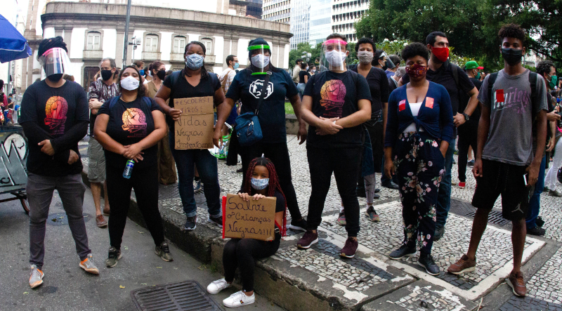 Activists in Rio de Janeiro report challenges of anti-racist mobilizations