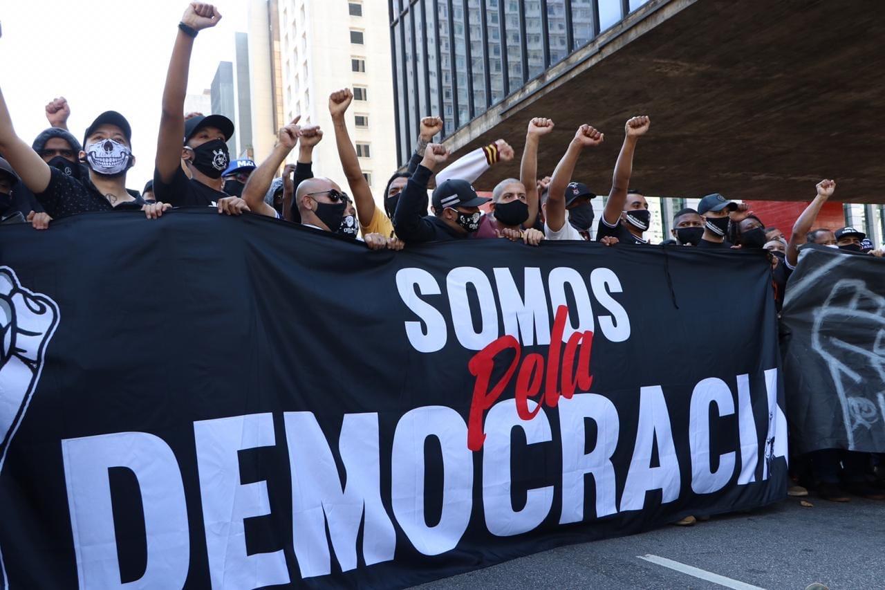 Black People protesting