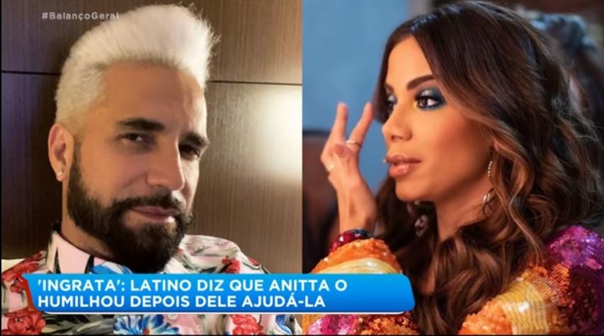Latino on Anitta