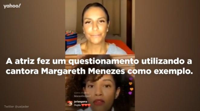 Singer Margareth Menezes