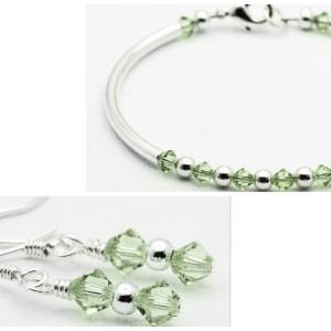 August Birthstone Bracelet