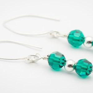 May Swarovski Crystal Earrings