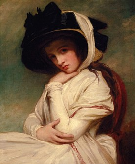 George_Romney_-_Emma_Hart_in_a_Straw_Hat