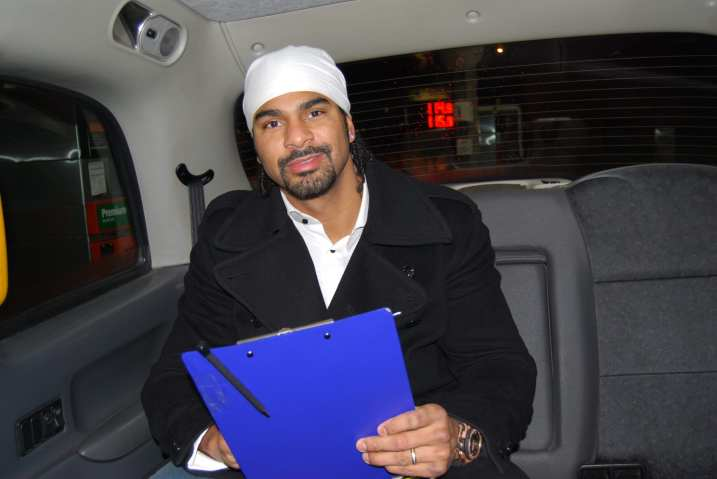 WORLD BOXING CHAMP DAVID HAYE IS WITHOUT DOUBT A SMASHING GUY!