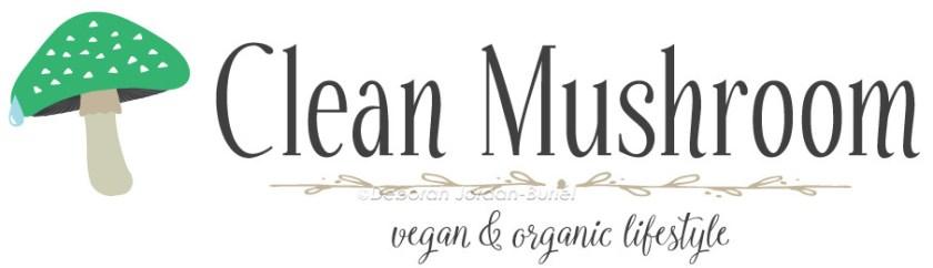 Logo for cleanmushroom.com, alternate