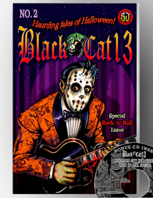 Black Cat 13 V 2 Halloween Comics
