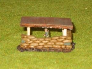Tin Roof option for  40/20 Sandbag position