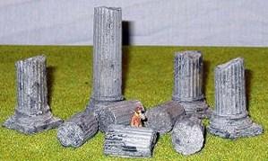 Set of 9 columns
