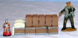 General stores, crates sacks etc