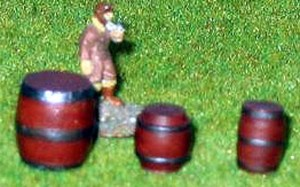 4x Small Casks