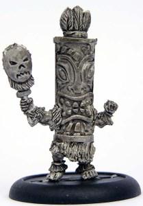 Bebelli shaman with mask