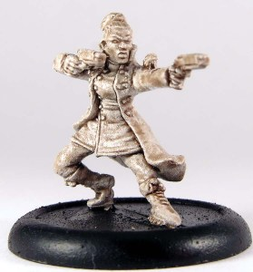 Female gun fighter