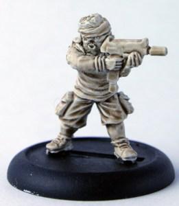 Tcho Tcho with machine pistol