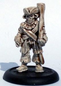 Skeleton trooper with a blunderbus