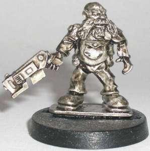 Space Dwarf Adventurer (B'Dass )