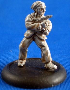 Investigator with Machine pistol
