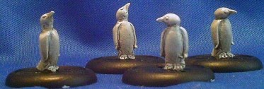 Penguins adults group