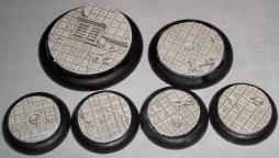 Round Base inserts (metal)