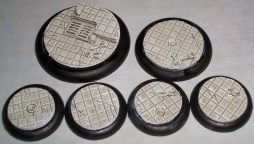10x Laboratory Floor 30mm base inserts