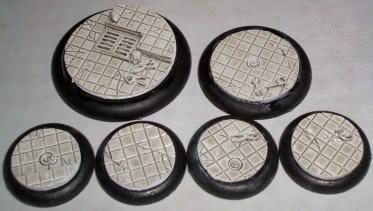 5x Laboratory Floor 40mm base inserts