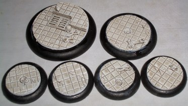 3x Laboratory Floor 50mm base inserts