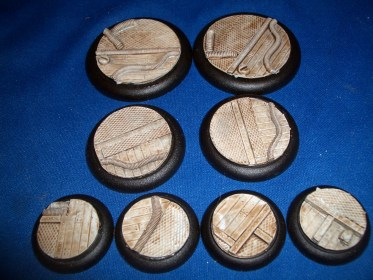 2x 50mm, 2x 40mm & 4x 30mm Modern Technical base inserts