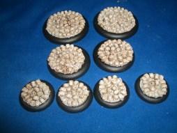 2x 50mm, 2x 40mm & 4x 30mm Skull Bases base inserts