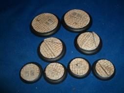 2x 50mm, 2x 40mm & 4x 30mm Victorian Street base inserts