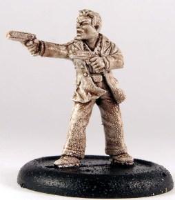 Male gun fighter