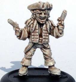 Goblin with pistols