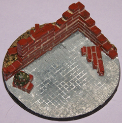 1x Ruined Buildings 60mm base.