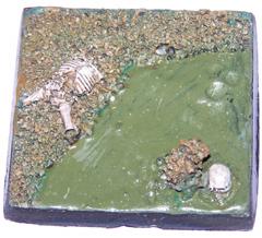 1x swamp land 50mm base
