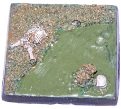1x swamp land 50mm base