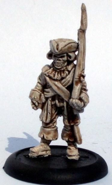 Skeleton trooper