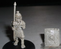 100x Skeleton Roman Legionaries with Pilum & shield