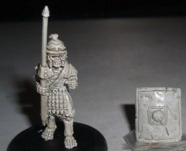 50x Skeleton Roman Legionaries with Pilum & shield