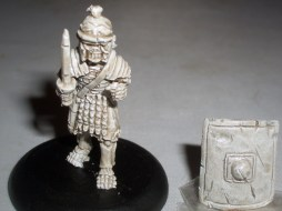 Skeleton Roman Legionary with Gladius & shield