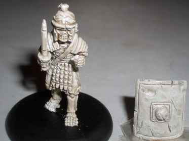 Skeleton Roman Legionary with Gladius & shield