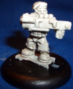 Space Dwarf Trooper 5 (B'Dass)