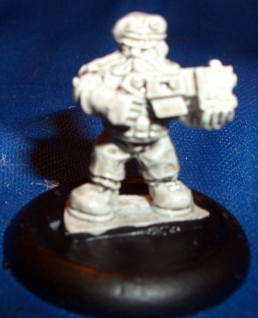 Space Dwarf trooper 9 (B'Dass)