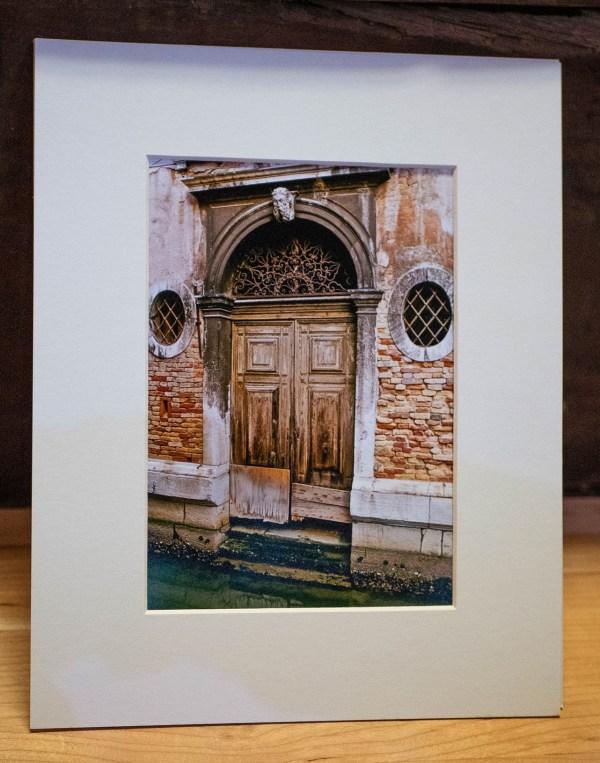 Venice-Doorway-2-Photography-Matted-Black-Cat-Gallery-Owego