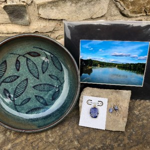 Black Cat Gallery Owego - Raffle #5 Shades of Blue